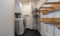 Kawasemi Residence Laundry Area | Hirafu, Niseko