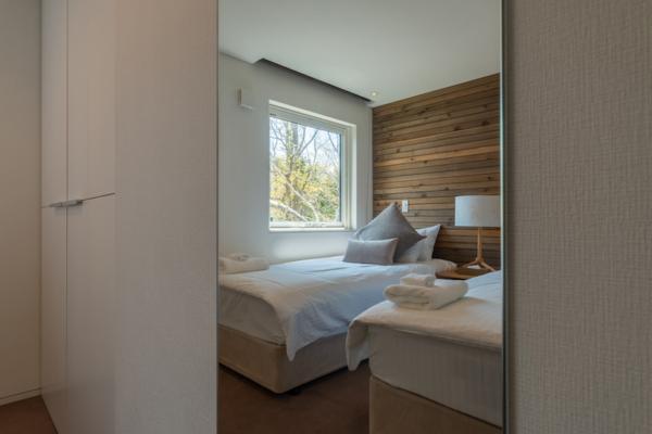 Kawasemi Residence Twin Bedroom | Hirafu, Niseko