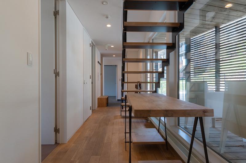 Kawasemi Residence Stairs | Hirafu, Niseko