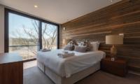 Kawasemi Residence Bedroom One Side | Hirafu, Niseko