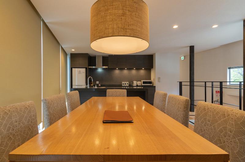 Kawasemi Residence Dining Table | Hirafu, Niseko