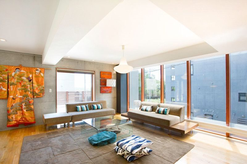 Kon M 3br Chalet Living Pavilion | Middle Hirafu Village, Niseko