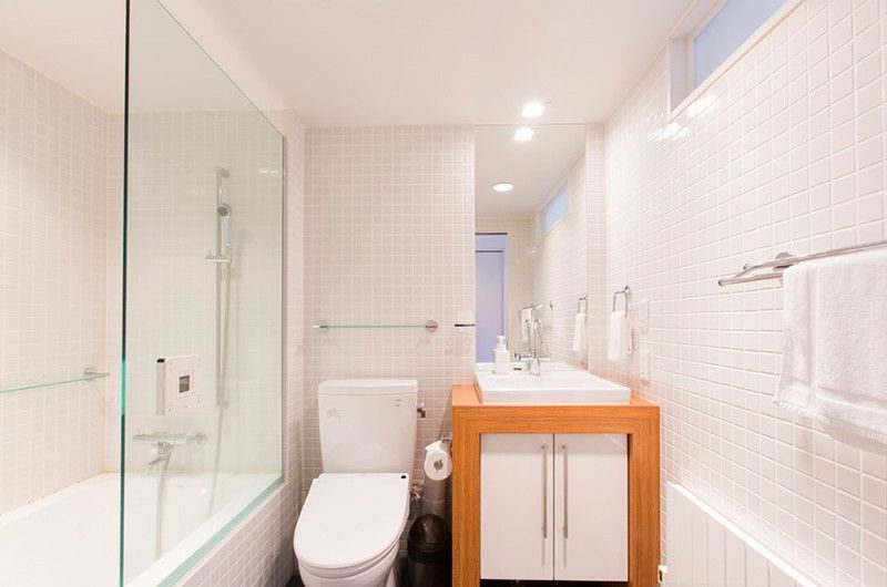 Kon M 1br Studio Bathroom | Middle Hirafu Village, Niseko