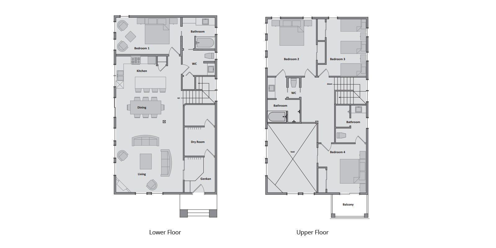 Latitude 42 Floorplan | Hirafu, Niseko