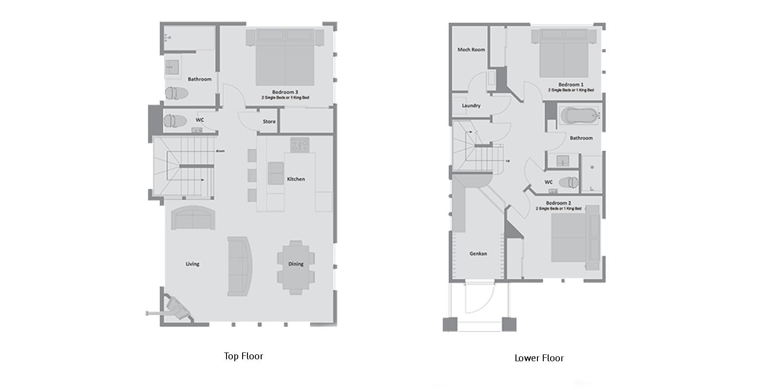 Mojos Floor Plan | Hirafu, Niseko