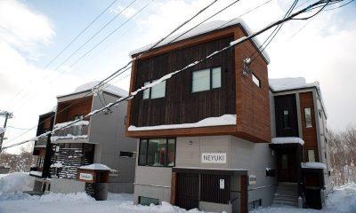 Neyuki Exterior | Middle Hirafu Village, Niseko