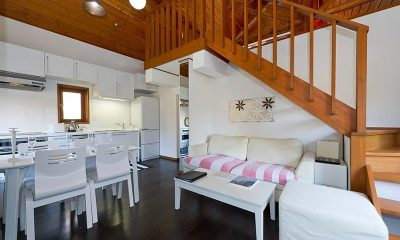 Nupuri Cottage Living And Dining Room | Lower Hirafu Village, Niseko
