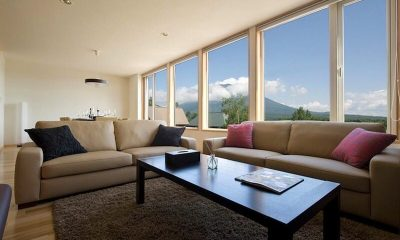 Oak Ridge Living Room | Hirafu Izumikyo 2, Niseko
