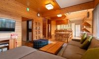 Powder Cottage Living Area | Hirafu, Niseko