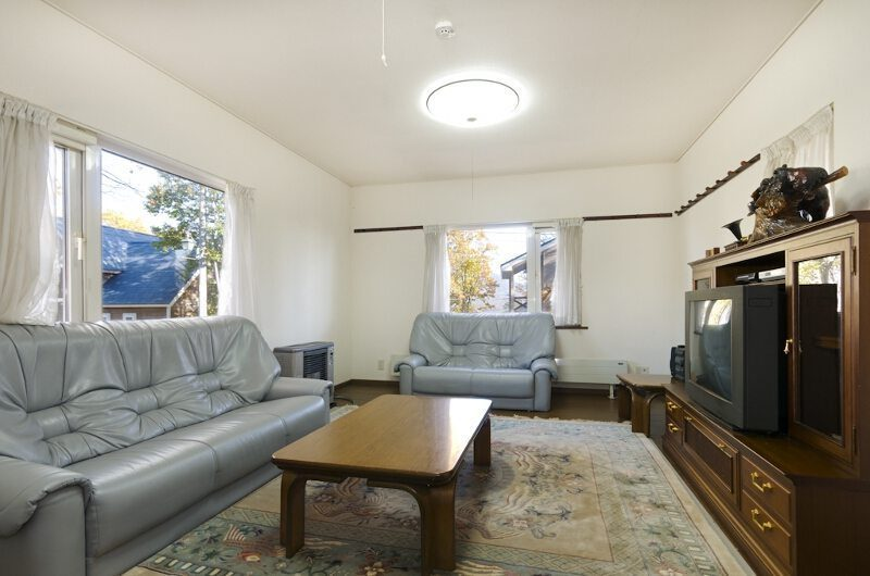 Powderhound Lodge Living Room | Upper Hirafu Village, Niseko