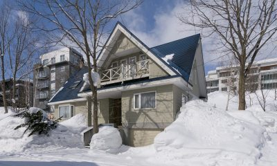 Powderhound Lodge Outdoor View | Upper Hirafu Village, Niseko