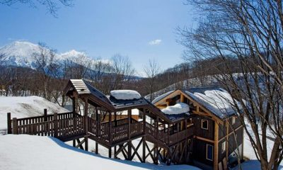 Shin Shin Outdoor View | Lower Hirafu Village, Niseko