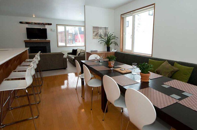 Shirokuma Chalets Dining Area | Middle Hirafu Village, Niseko