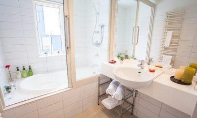 Shirokuma Chalets Bathroom | Middle Hirafu Village, Niseko