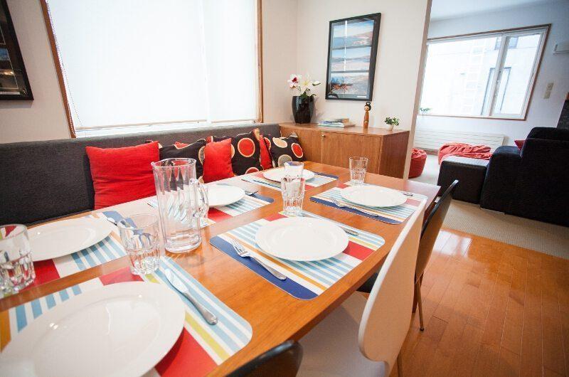 Shirokuma Chalets Dining Room | Middle Hirafu Village, Niseko