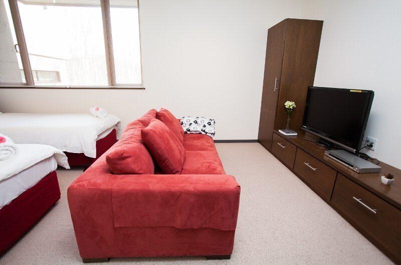 Toshokan Townhouses Bedroom Sofa | Middle Hirafu Village, Niseko