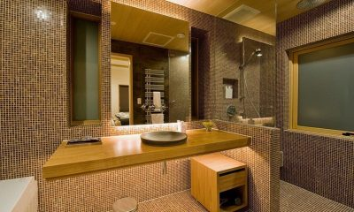 Tsubaki Bathroom   Lower Hirafu Village, Niseko