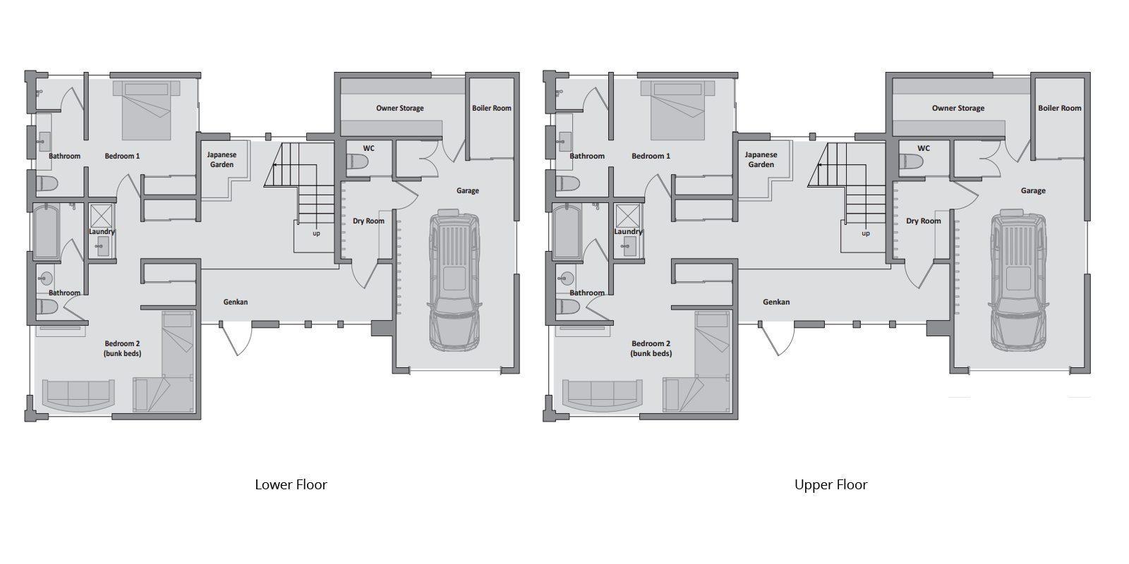 Tsubaki Floorplan | Hirafu, Niseko