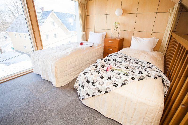 Yotei Cottage Twin Bedroom | Lower Hirafu Village, Niseko