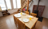 Yotei Cottage Dining Area | Lower Hirafu Village, Niseko