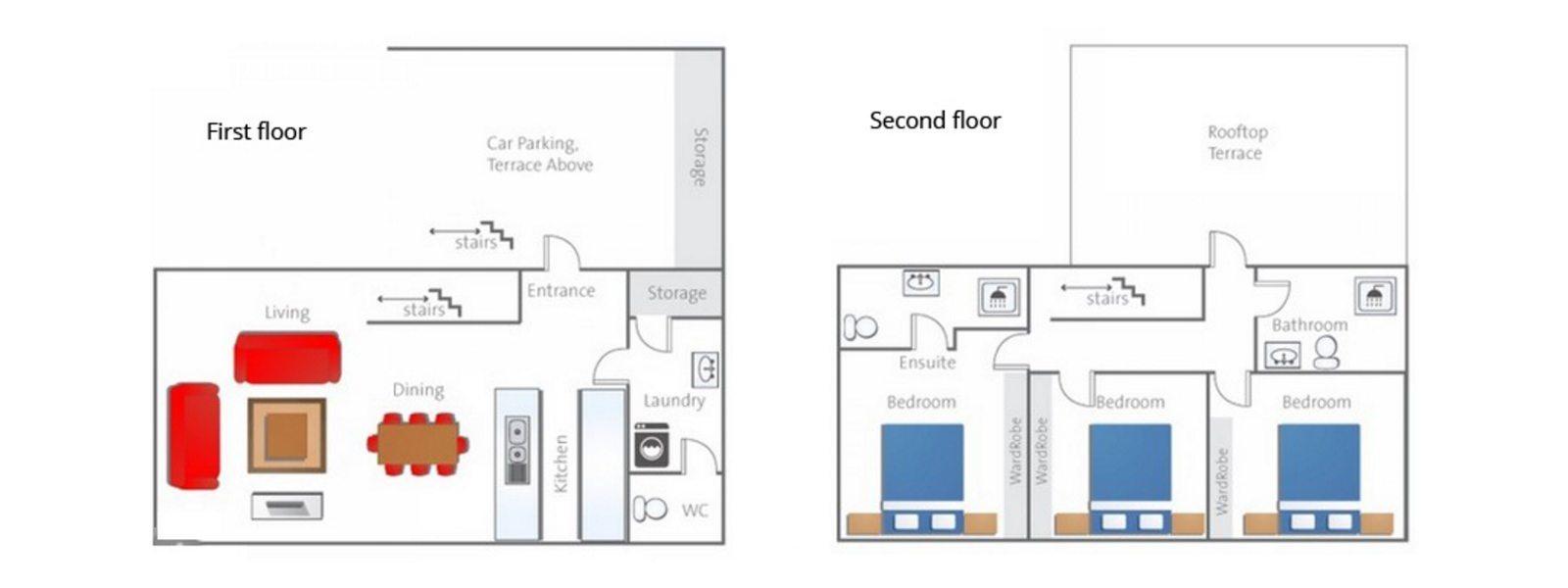 Yume Basho Floorplan | Hirafu, Niseko