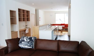 Yutaka Townhouses Living Room | Middle Hirafu Village, Niseko