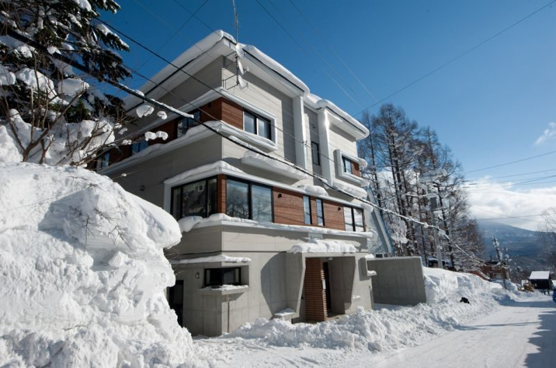 Yutaka Townhouses Entrance | Middle Hirafu Village, Niseko