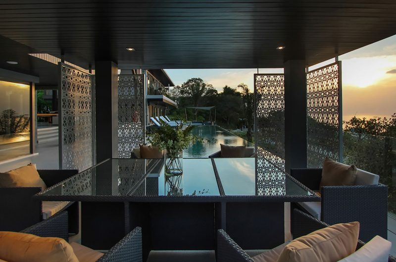 Villa Saan Outdoor Seating Area | Kamala, Phuket