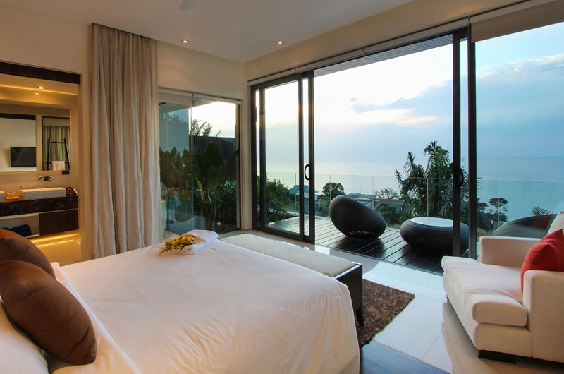 Villa Saan Bedroom and En-suite his and Hers Bathroom | Kamala, Phuket