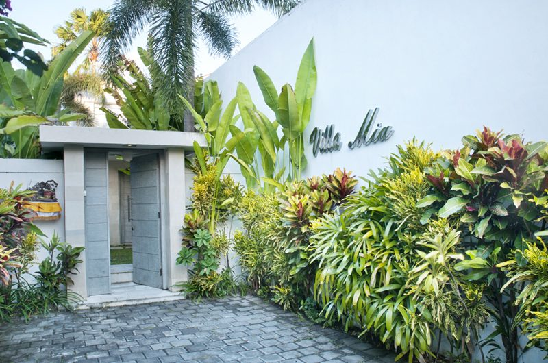 Villa Mia Entrance | Canggu, Bali