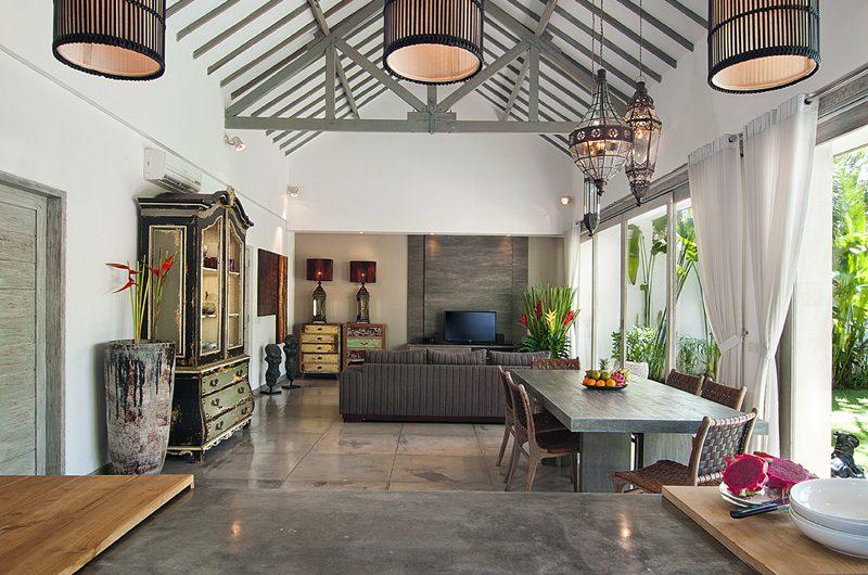 Villa Mia Living and Dining Area | Canggu, Bali