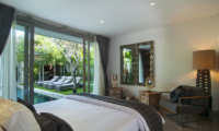 Villa Mia Spacious Bedroom with Pool View | Canggu, Bali