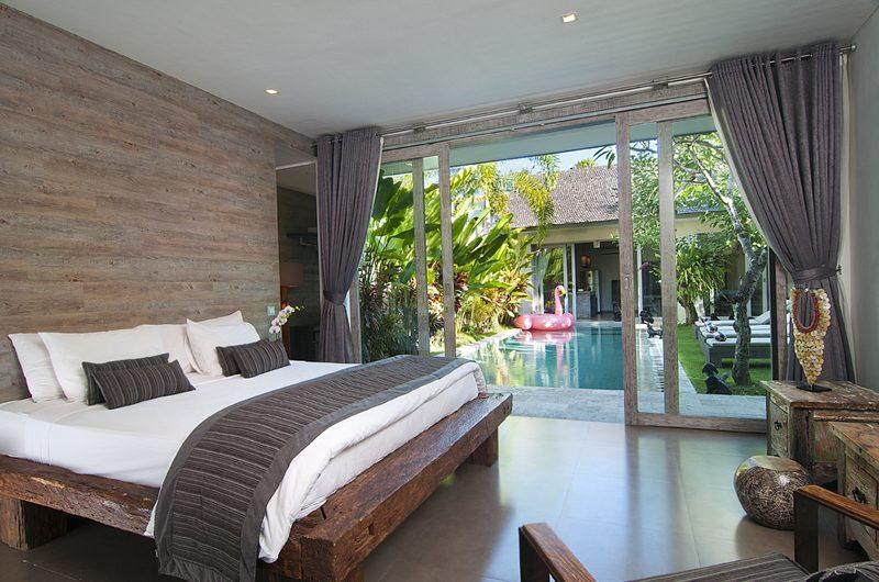 Villa Mia Bedroom with Pool View | Canggu, Bali
