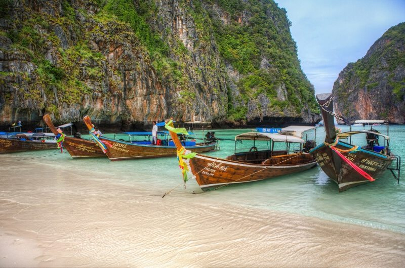 Koh Phi Phi island close to Phuket, Thailand