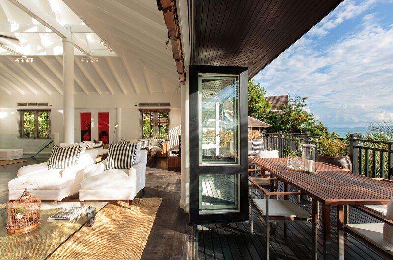Baan Hansa Living And Dining Area | Koh Samui, Thailand
