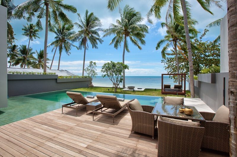 Villa Neung Outdoor Seating | Koh Samui, Thailand