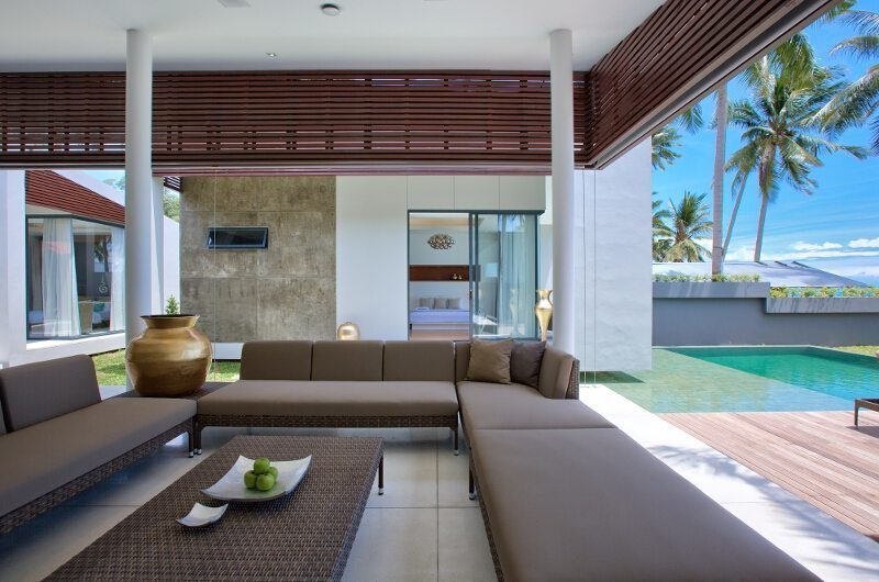 Villa Neung Living Room | Koh Samui, Thailand