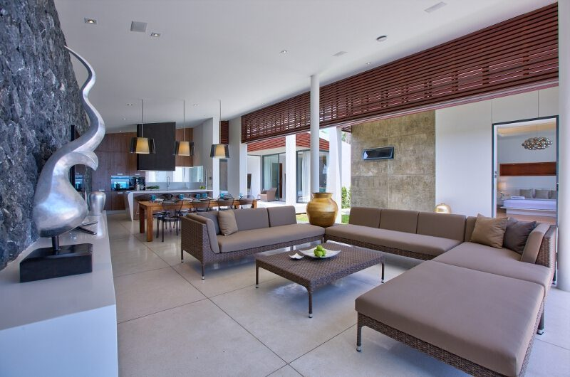 Villa Neung Living Area | Koh Samui, Thailand