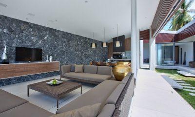 Villa Soong Living Area   Koh Samui, Thailand