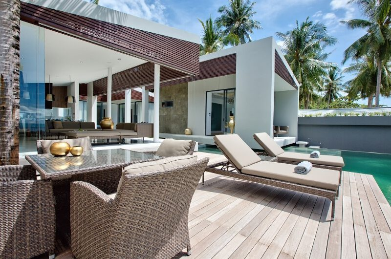 Villa Soong Pool Side Dining | Koh Samui, Thailand