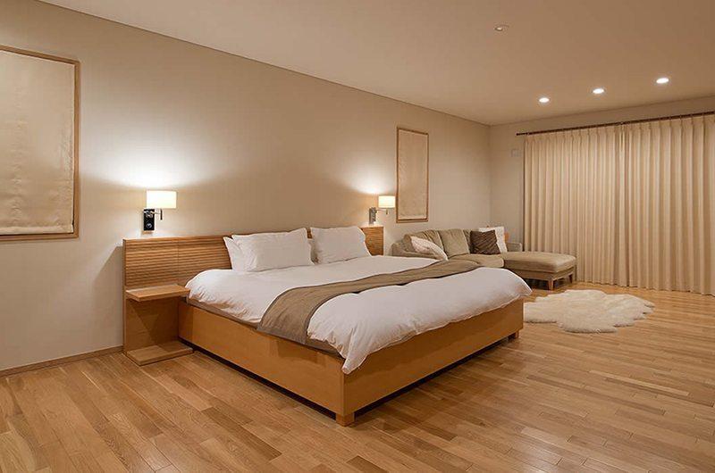 Akari Master Bedroom | Hirafu, Niseko
