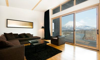 Forest Estate Living Area | Middle Hirafu Village, Niseko