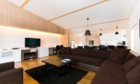 Forest Estate Living And Dining Area | Middle Hirafu Village, Niseko