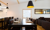 Forest Estate Dining Area And Breakfast Bar | Middle Hirafu Village, Niseko