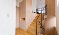 Forest Estate Stair Case | Middle Hirafu Village, Niseko