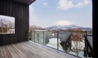 Forest Estate Balcony | Middle Hirafu Village, Niseko
