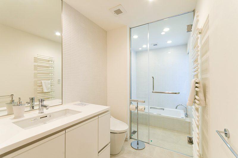 Forest Estate Master Bathroom | Middle Hirafu Village, Niseko
