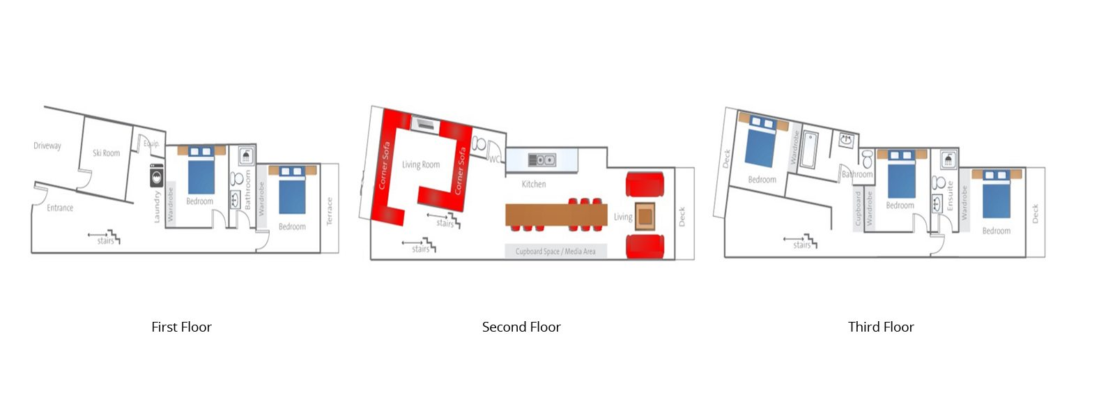 Tamo Floorplan | Hirafu, Niseko