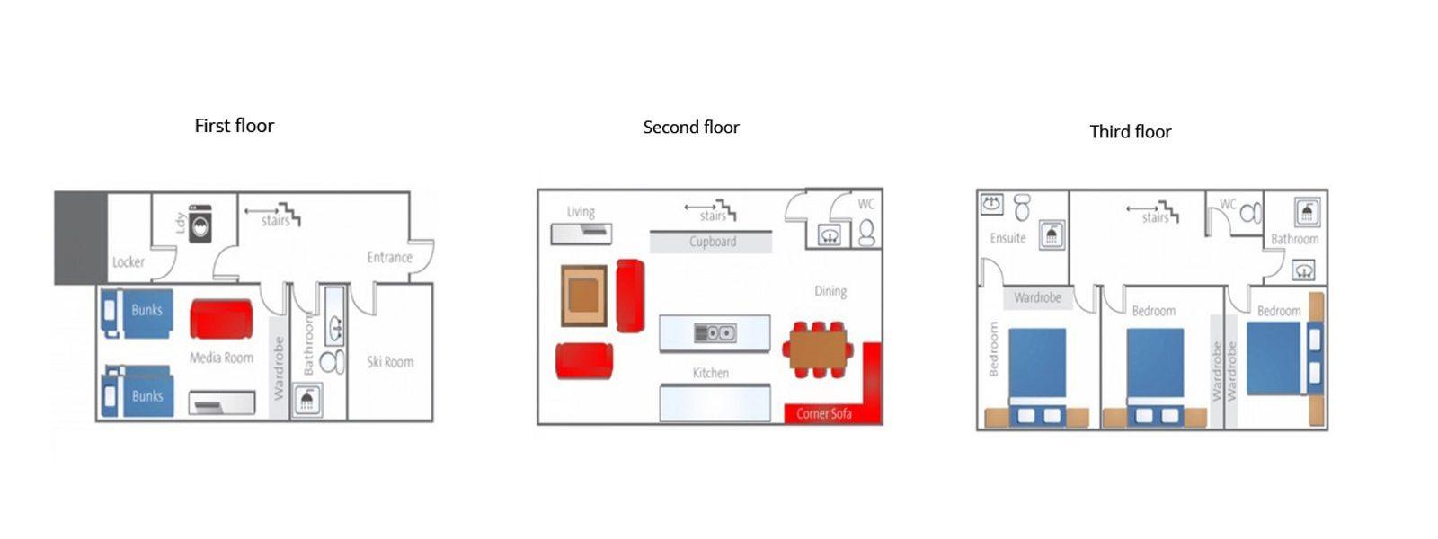 Yutaka Townhouses Floorplan | Niseko