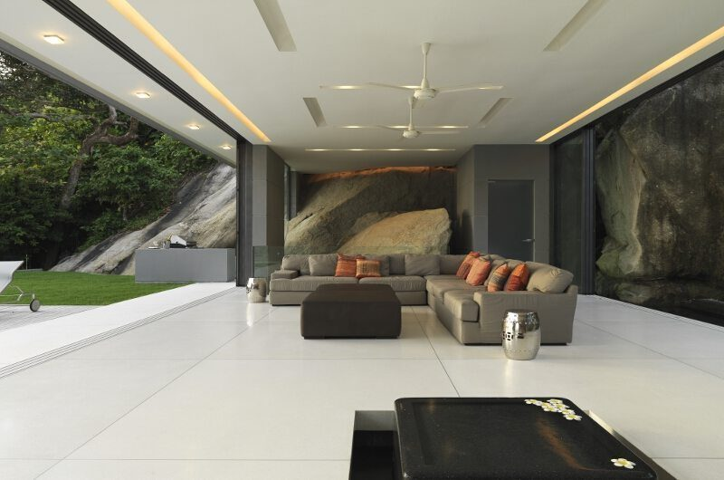 Villa Amanzi Living Area | Phuket, Thailand